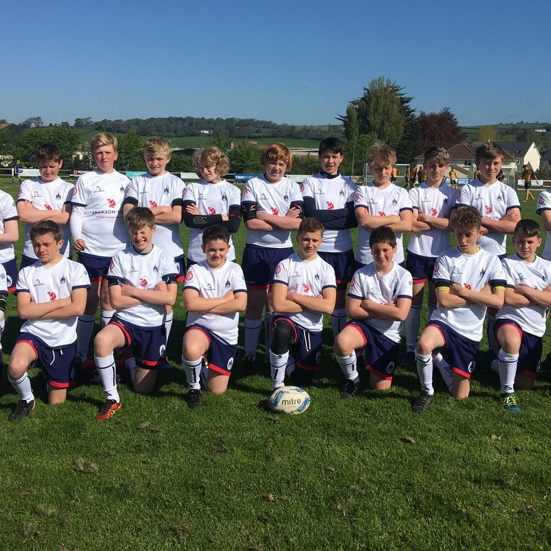Under 14 beat United Services Portsmouth 54 - 7