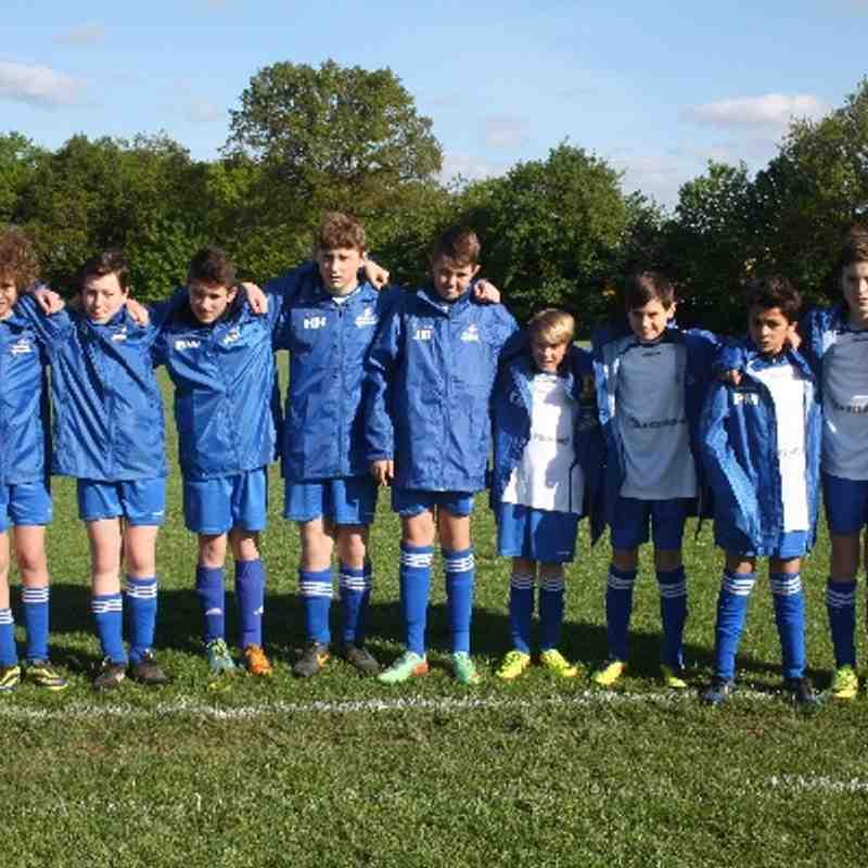 ECFC Foxes U13 New Rain Jackets sponsored by ' Huntswood'