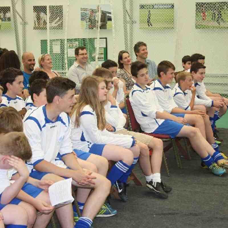 Foxes U13 Trophy Day Presentation 2014
