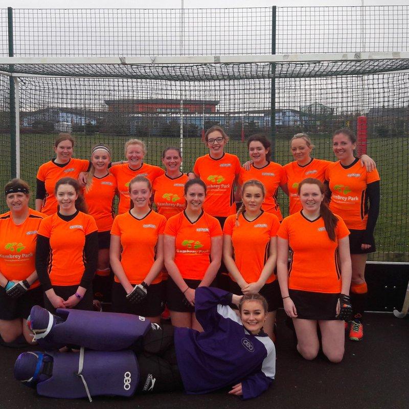 Ladies 2nd XI beat Salisbury 3 2 - 1