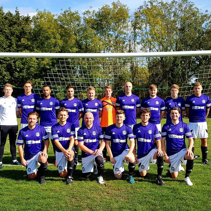 First Team beat Woodlands 5 - 0