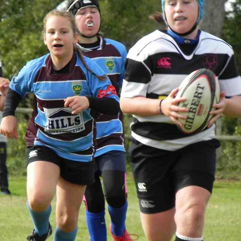 07.10.2018 U13 Girls Chippenham v Kingswood