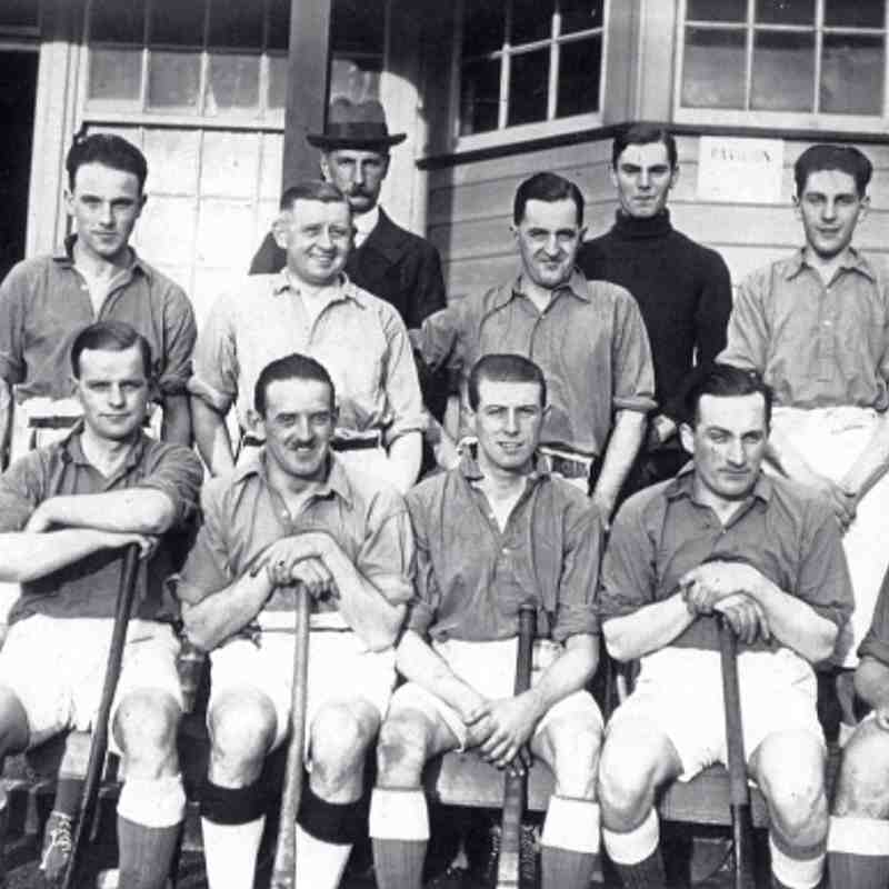 1921 Thirsk Hockey Club – Year of Formation Back Row:  L-R unknown, unknown, unknown, I. A. Sleightholme, unknown, C Pearson, E. R. (Dick) Jackson Front Row: L-R unknown, unknown, H Walker, M Lister, H Greenwood