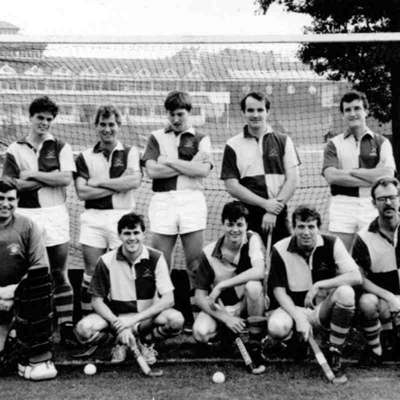 Men's first team 1990/91 season.