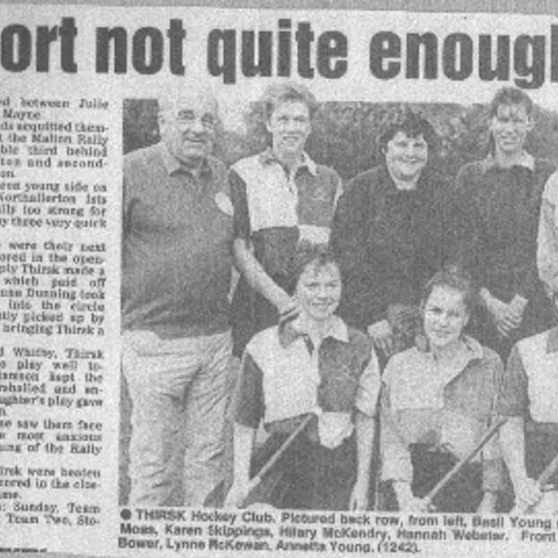 A ladies team from 1992
