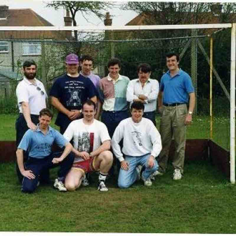 ON TOUR AT WORTHING. YEAR 1995/96?