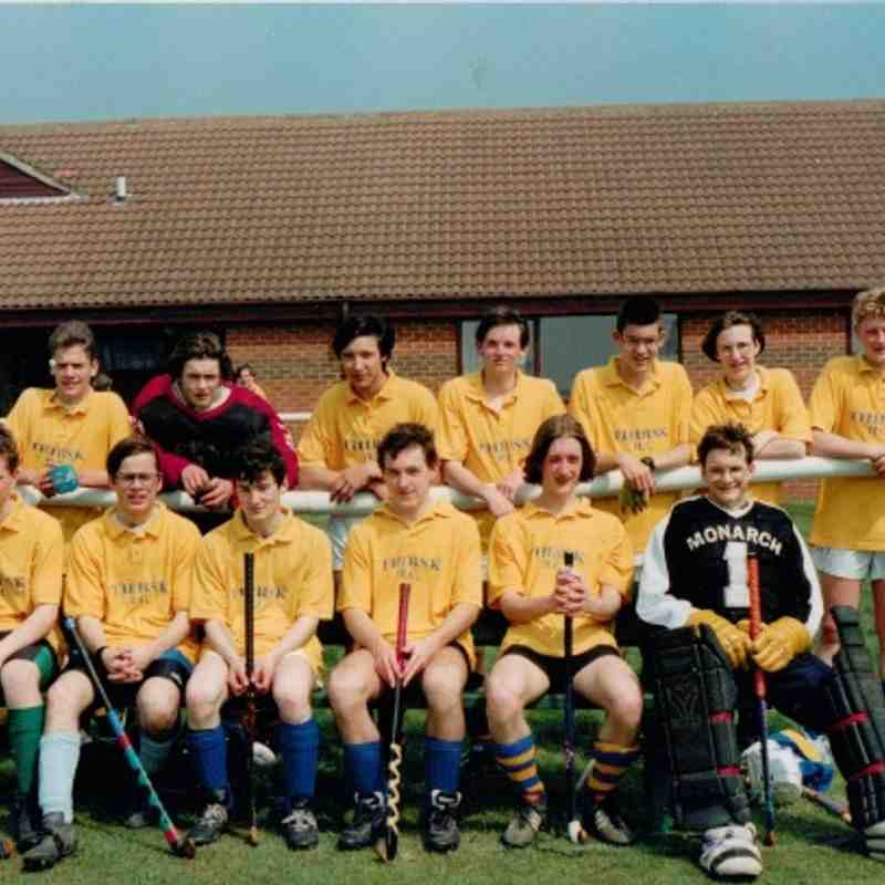 UNDER 16 BOYS 1995.