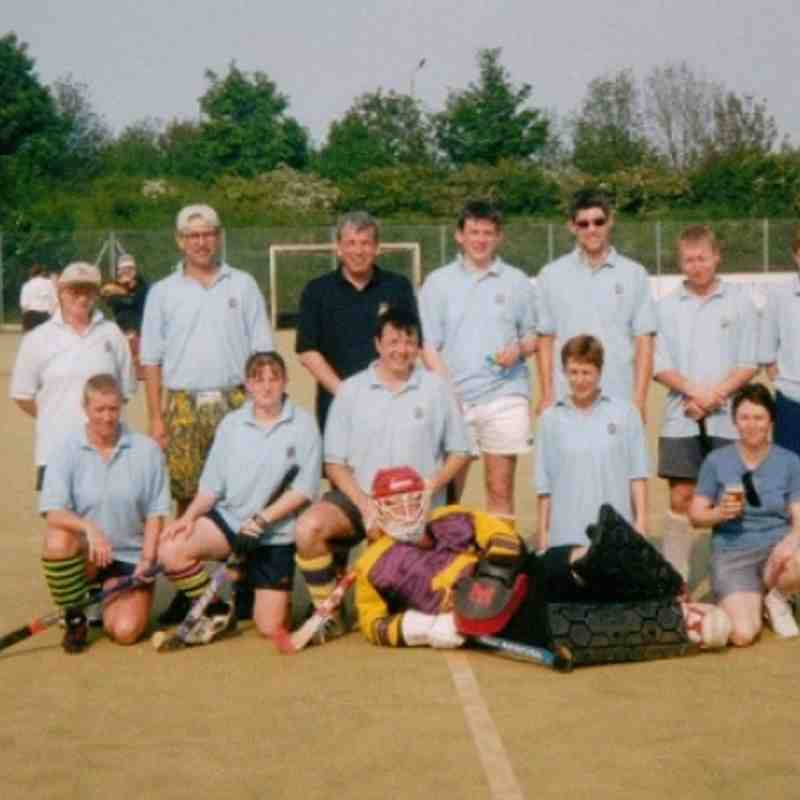 TOURING TEAM AT PETERBOROUGH 199?