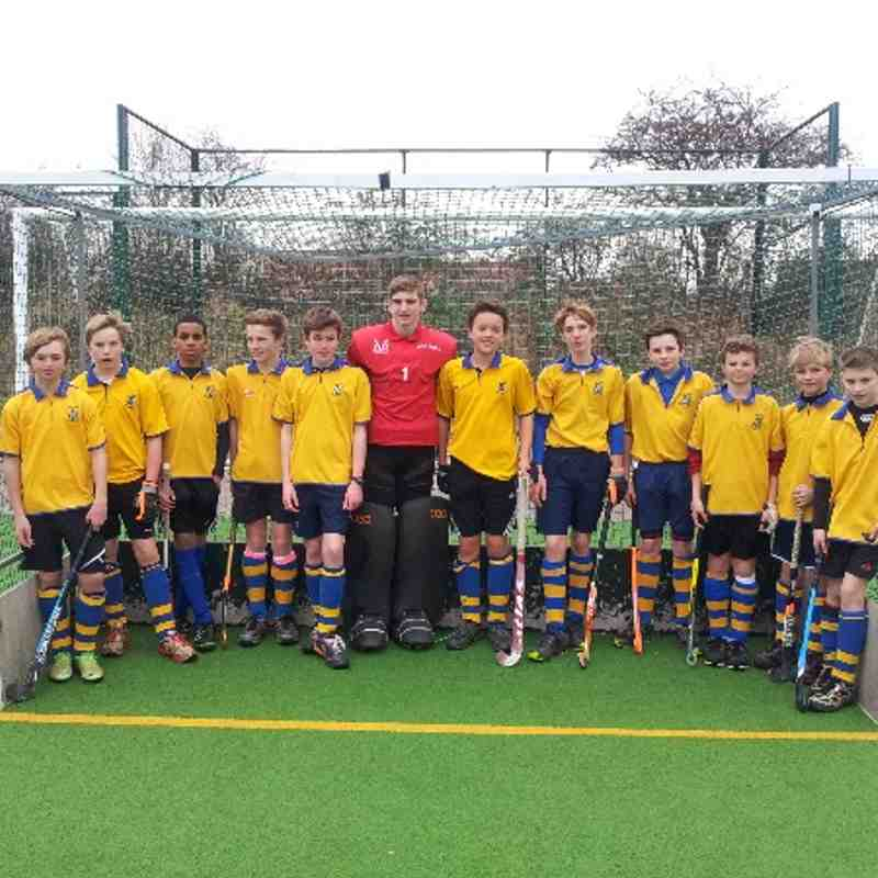 U14 Boys A Team. Left to right: Josh Dale, Sam Bosomworth, Otis Williams, Oliver Houseman, Alex Docherty, Luke Brownlee, Arthur Hunt, Harry Collinson, James Houseman, Harry Goodall, Paddy Medley and Connor Watson.
