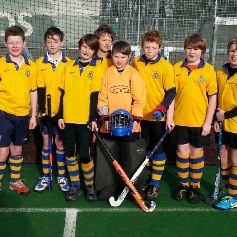 U12 Boys A Team. Henry, Archie, Sam, Tim, Ollie(GK), Flyn, Ben and Tom.