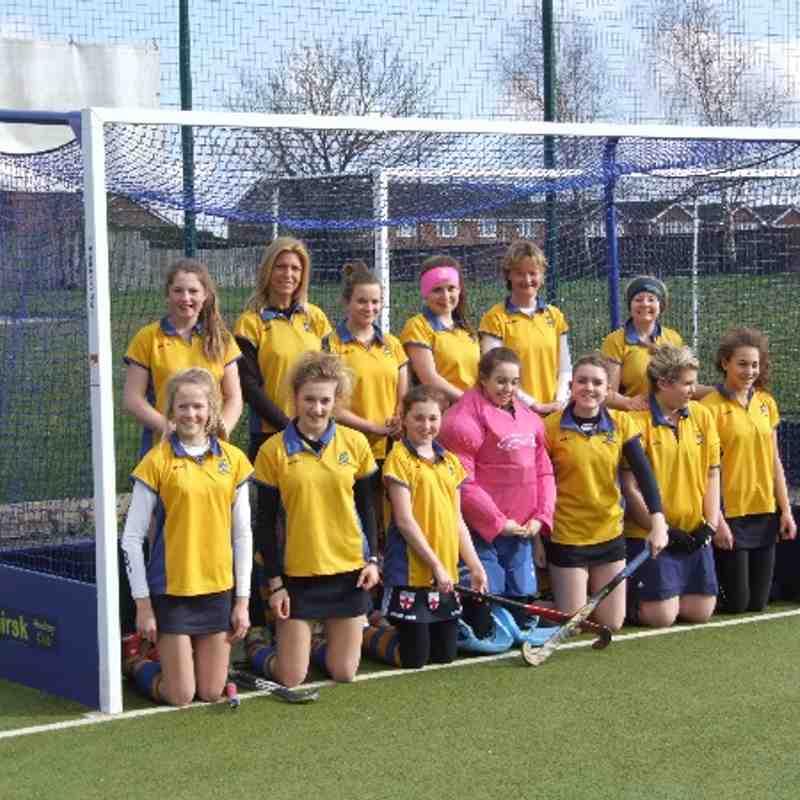 Ladies second team March 2014.