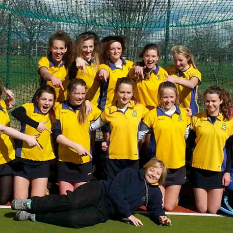 U16 girls A team 2013/14