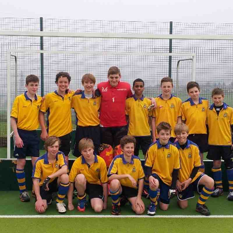 U14 YYHL Champions. Back row from left Alex Docherty, Arthur Hunt, Harry Collinson, Luke Brownlee, Otis Williams, Oliver Houseman, James Houseman, and Connor Watson