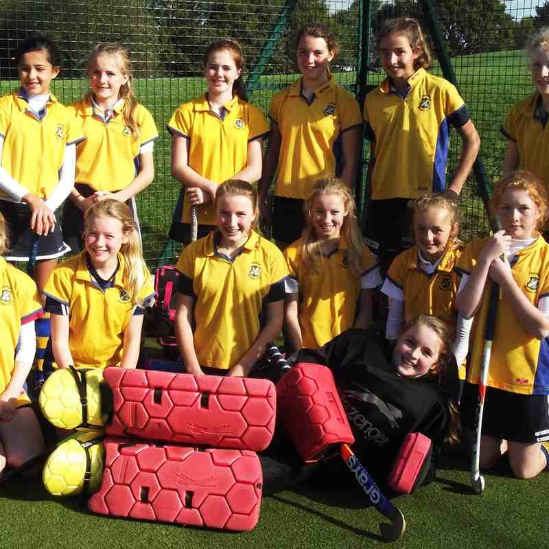 U14 girls B team. Oct 2014. 