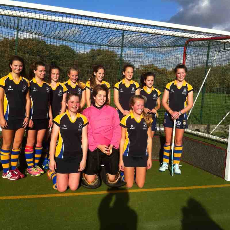 U16 girls Oct 2014.
