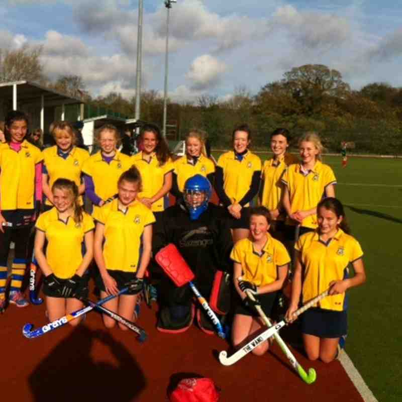 U14 Girls A team Nov 2014.