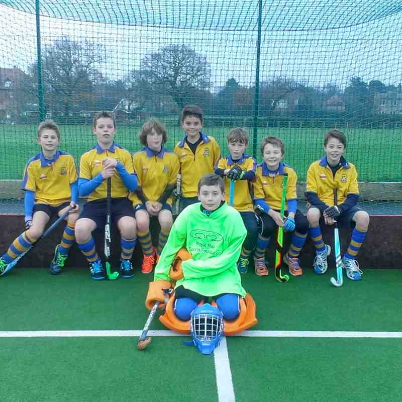 U12 Boys team Nov 2014. Left to right: Henry Hildreth, James Bojar, Arthur Webster-Jones, Tom Hall, Conner Wilkinson, Ben Sherwood, Jack Norton and Sam Kelly.