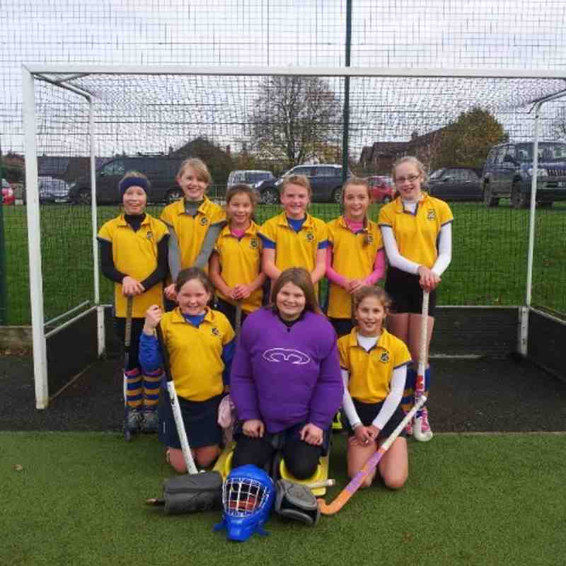 U12 A team girls, mini championship runners up Nov 2014.