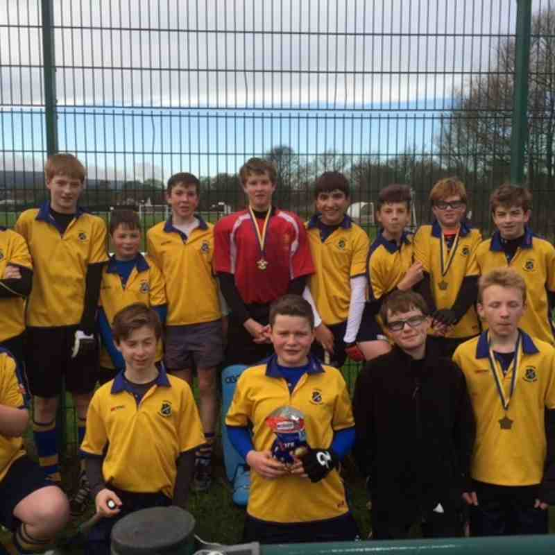 U14 Boys A team, 23rd Nov 2014.