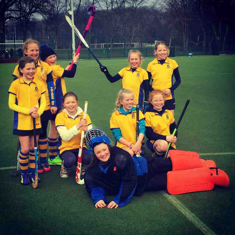 U10 Thirsk Girls A Team.