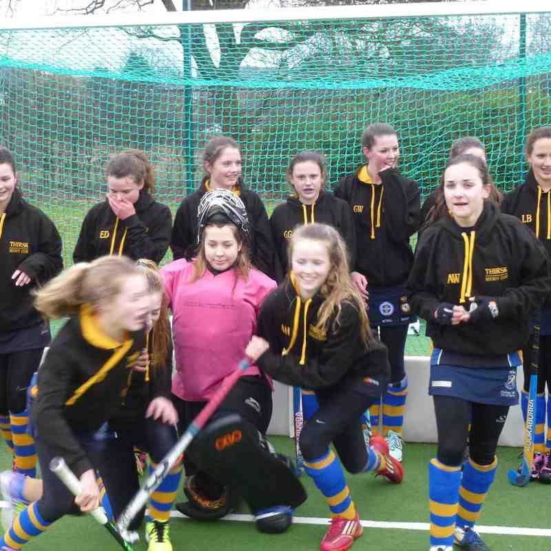 U16 Girls EHB Cup 1 March 2015.
