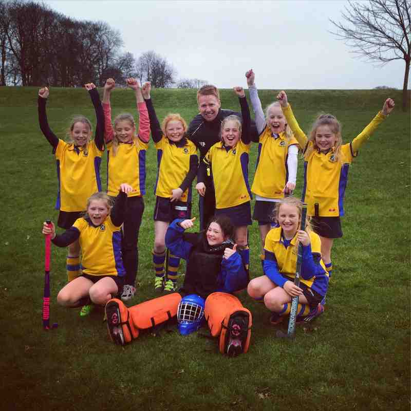 U10 Girls A team Champs 2014/15