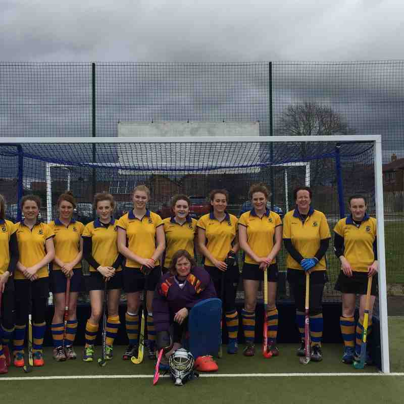 Ladies 1st Team 2014/15 season.