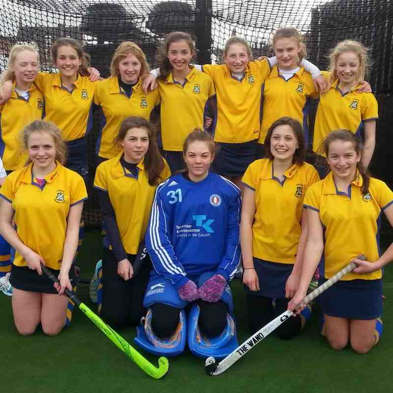 U14 Girls A Squad.