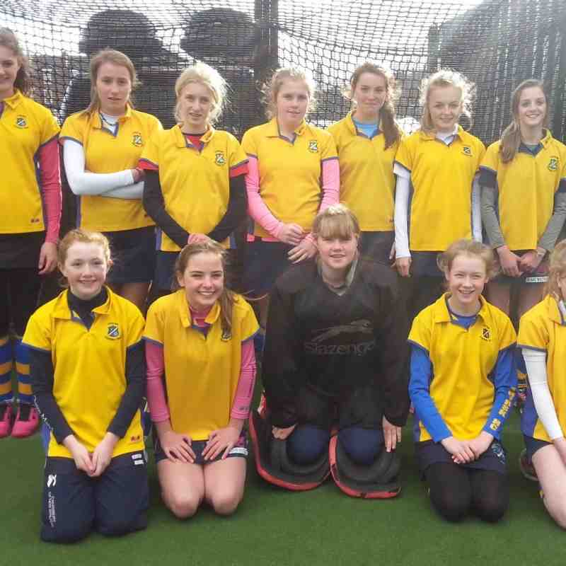 U14 Girls B Squad.