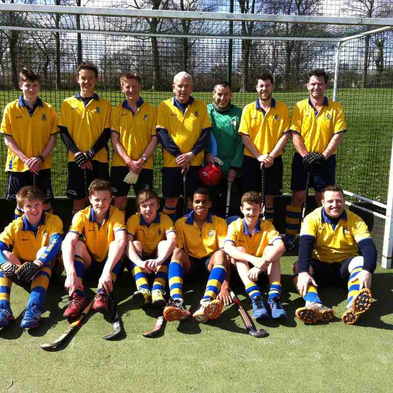 Men's 2nds season 2014/15.