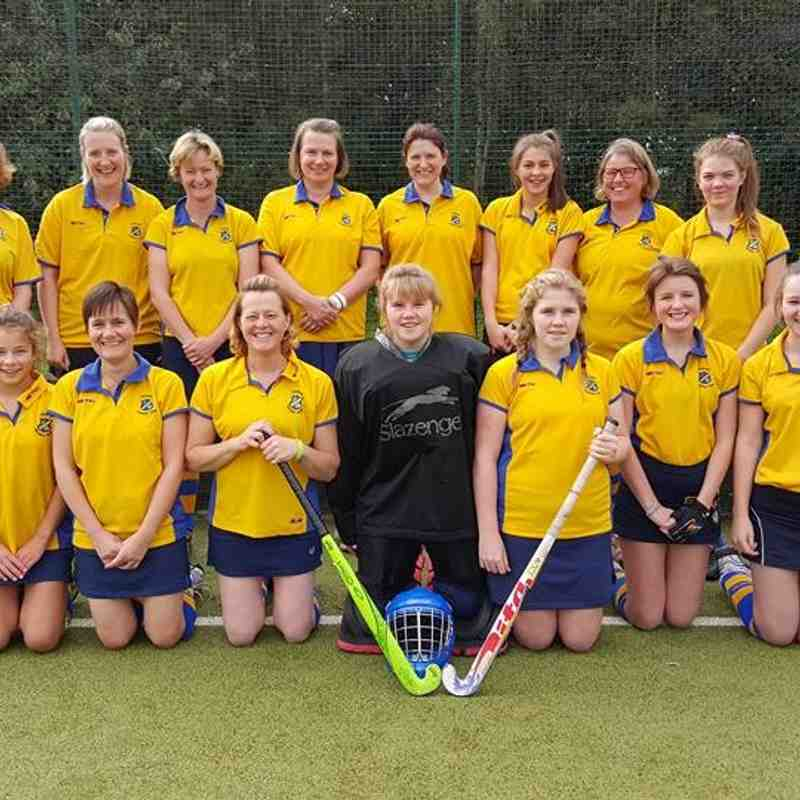 Ladies 3rd team Sep 2015