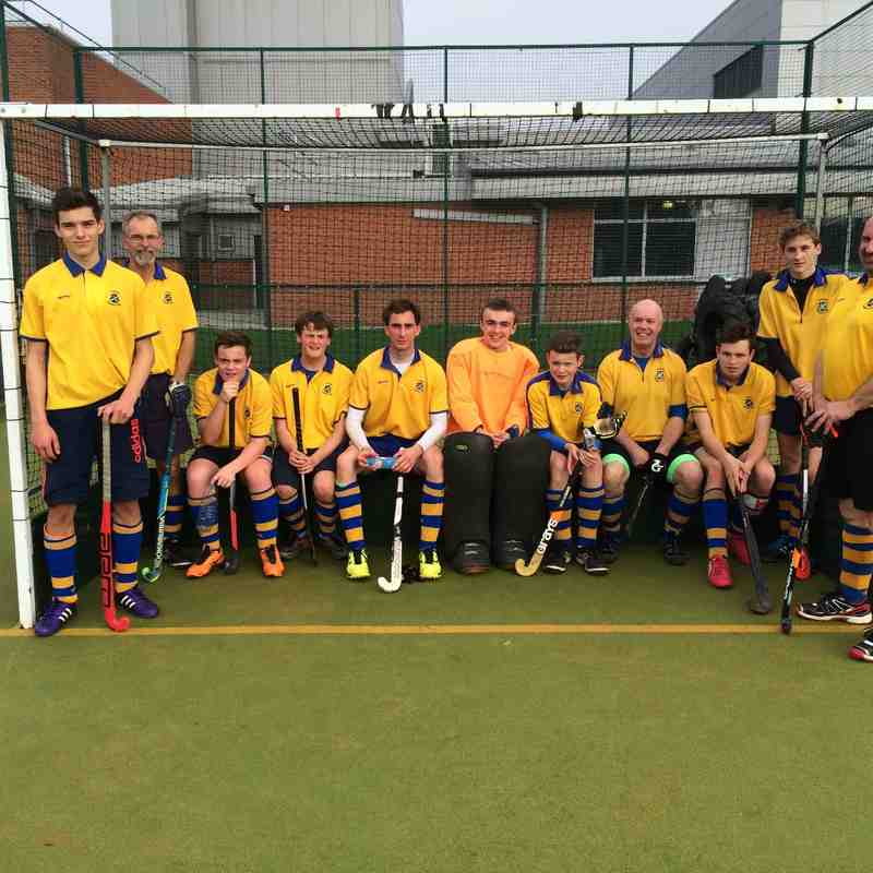 Men's Third team Oct 2015.