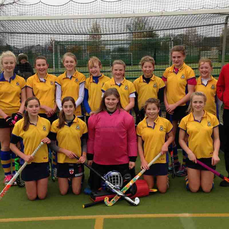 U14 Girls A team Dec 2015.