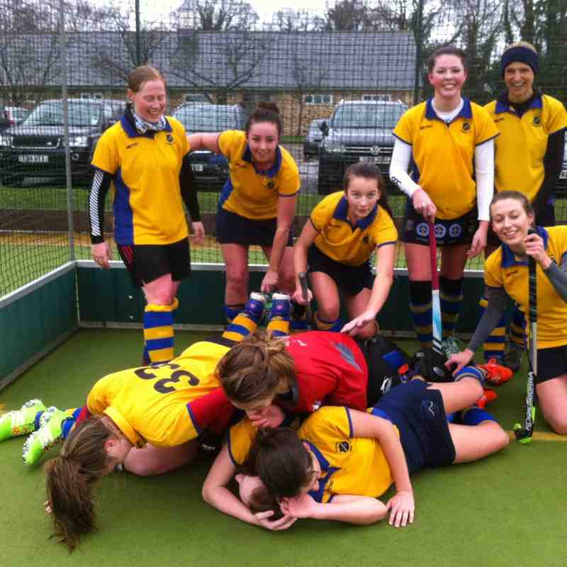 Ladies 2nd's 2016.