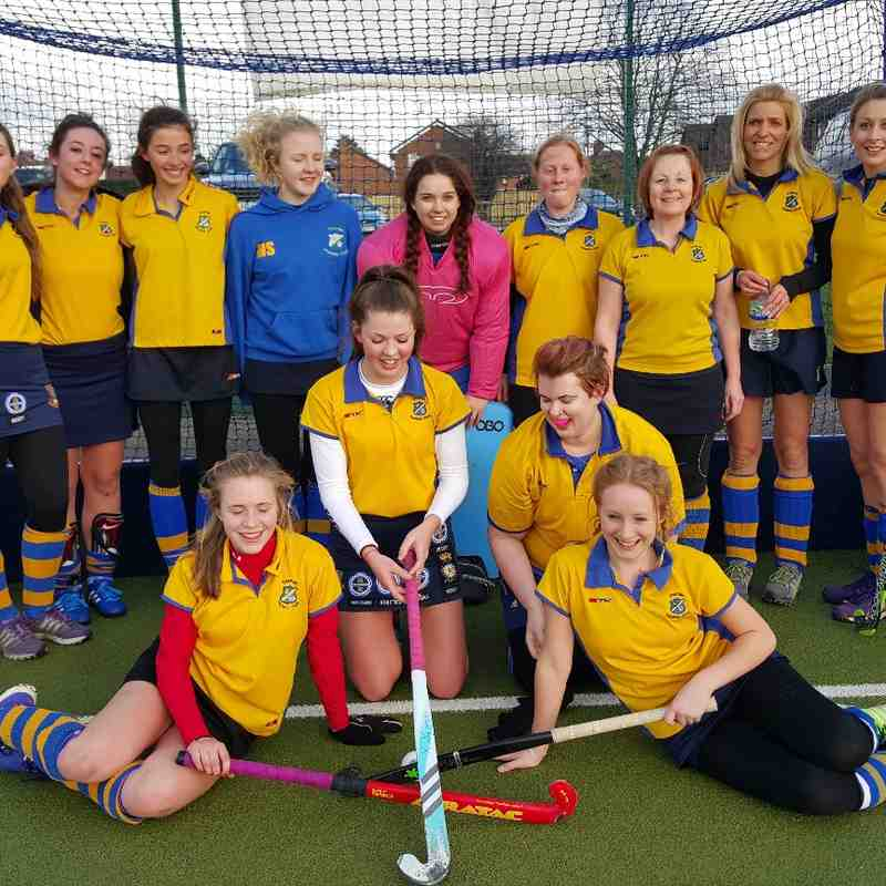 Ladies 2nds Feb 2016.