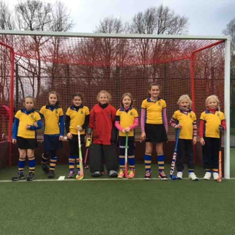 U10 girls Cougar team, 2015/16.