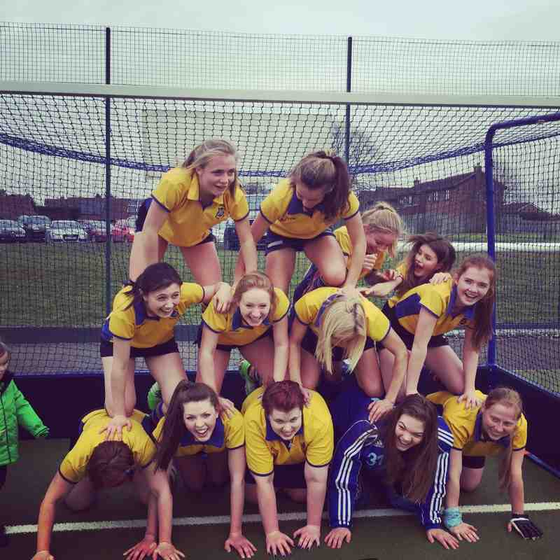 Ladies 2nds March 2016.