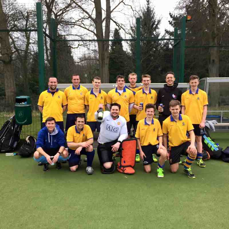 Men's 1st Team March 2016.