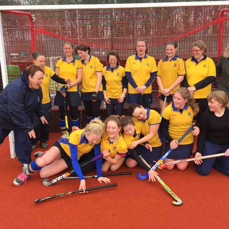 Ladies 3rd team March 2016.