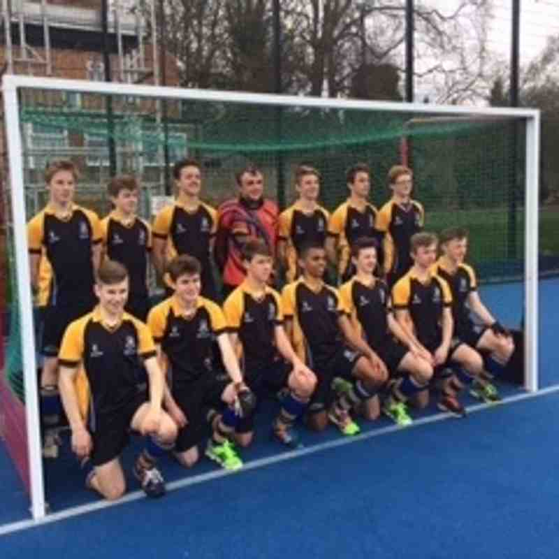 U16 Boys March 2016.