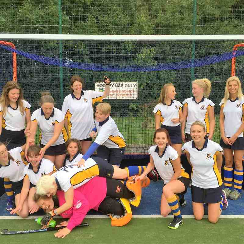 Ladies 2nds, Oct 2016