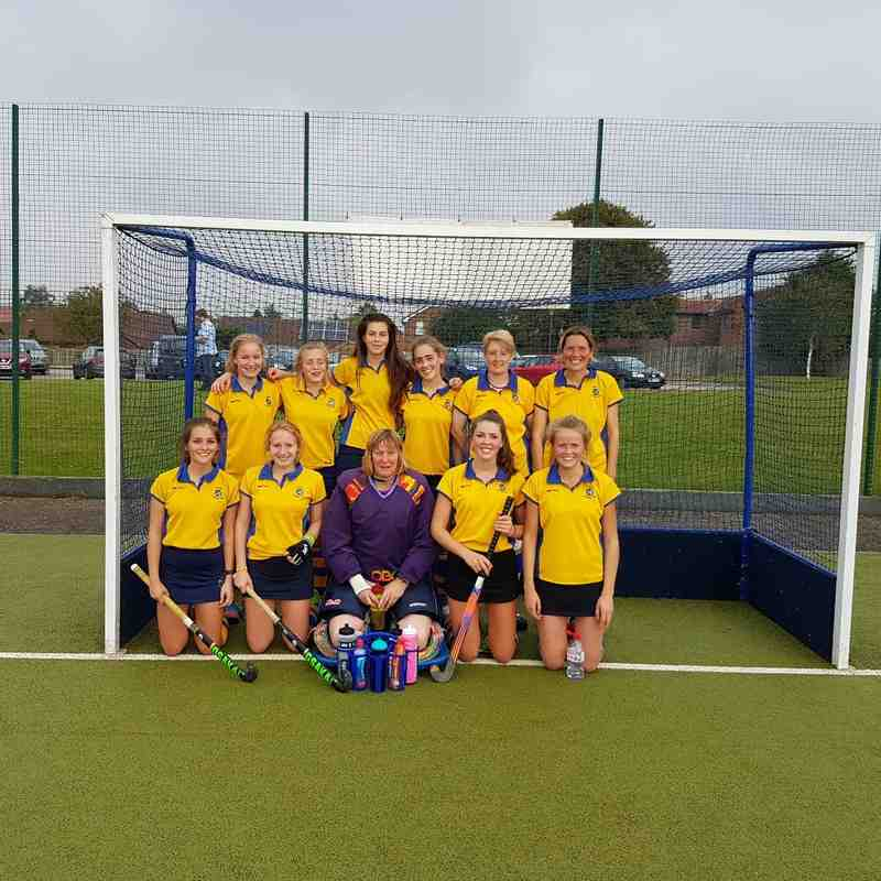 Ladies first team Oct 2016.