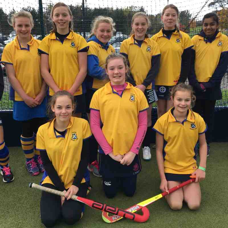 U14 Girls C team Nov 2016.
