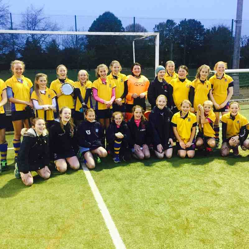 U12 Girls Nov 2016