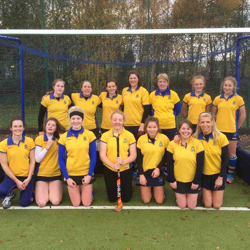 Ladies 2nds Nov 2016.