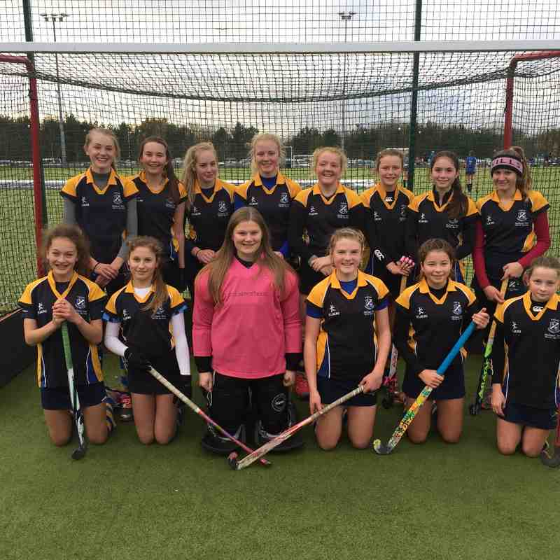 U14 Girls EHB Cup Nov 2016.