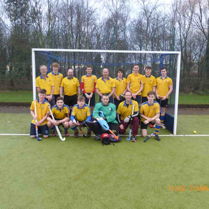 Men's 3rds Jan 2017.