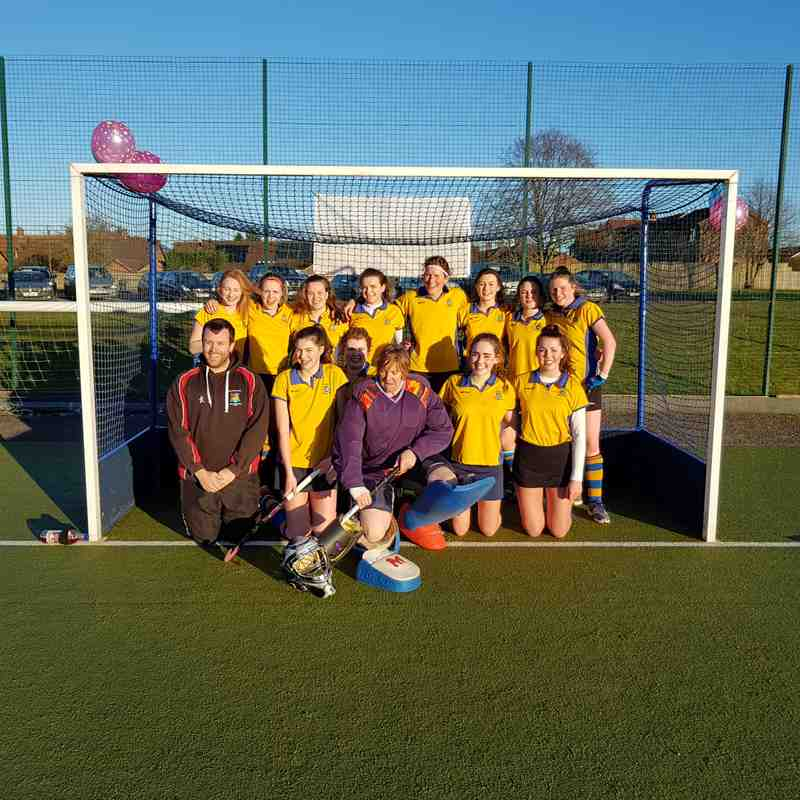 Ladies 1st Team Jan 2017.