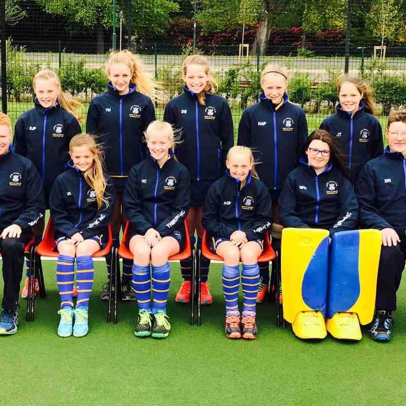 U12 Girls at National Finals 2017.