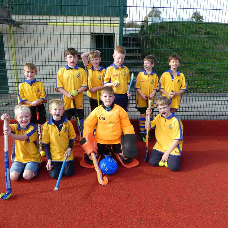 U10 Boys squad Oct 2017
